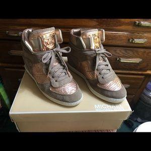 Stunning Michael Kors fashion wedge shoes